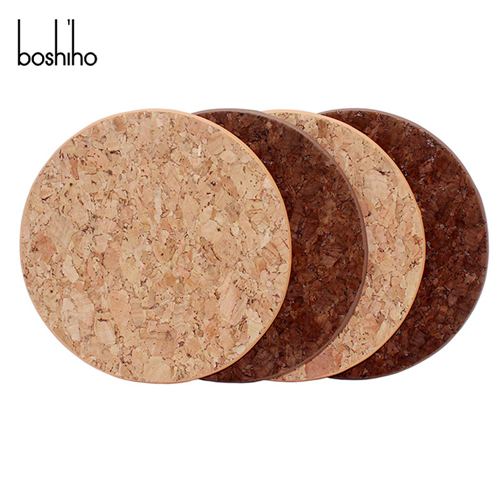 cork material coaster for cup glass coaster