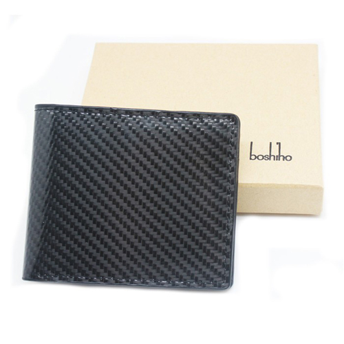 Boshiho hot sale durable carbon fibre wallet