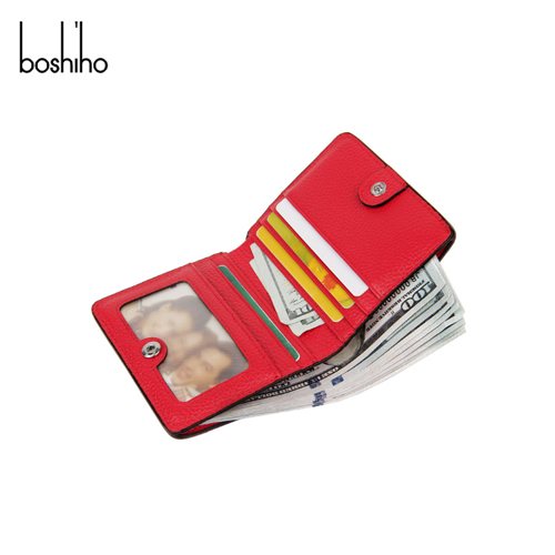 Hot selling slim women wallet with card holder and money wallet