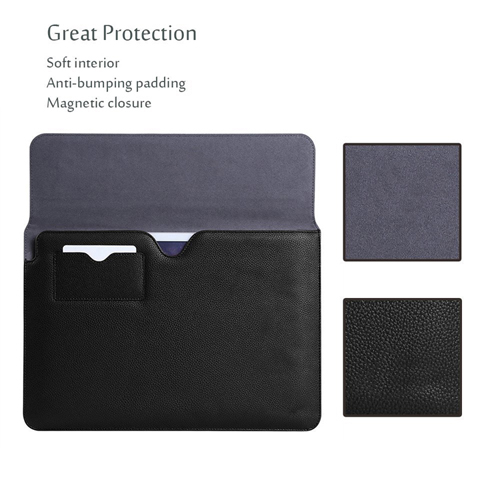 High quality real leather business file case and leather bags for tablets