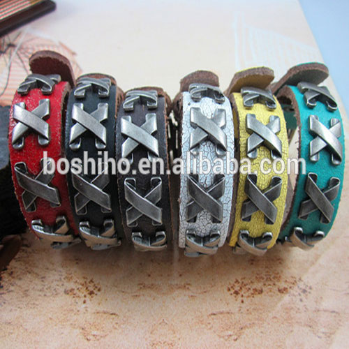 Unique Design Women Leather Bracelet Facory Supplier